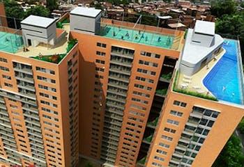 Los Árboles, Apartamento en venta en Niquia de 69m² con Gimnasio...