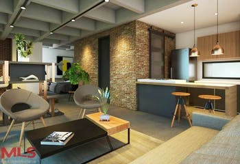 Awa Living, Apartamento en venta en La Aldea de 1 habitacion