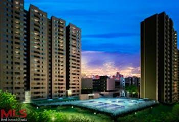 Apartamento en Itagui, Santa Maria - 60mt, dos alcobas, balcón