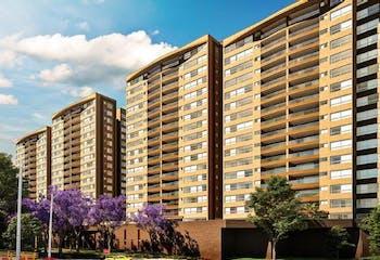 Apartamento en Pontevedra, Envigado - Tres alcobas