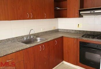 San Martin, Apartamento en venta en Loma De Los Bernal de 3 alcobas