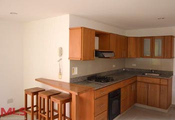 Apartamento en Aves Marias, Sabaneta - 59mt, una alcoba, cuarto útil