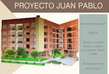 Juan Pablo, Apartamentos en venta en Barrio Nicolás De Federman de 1-2 hab.