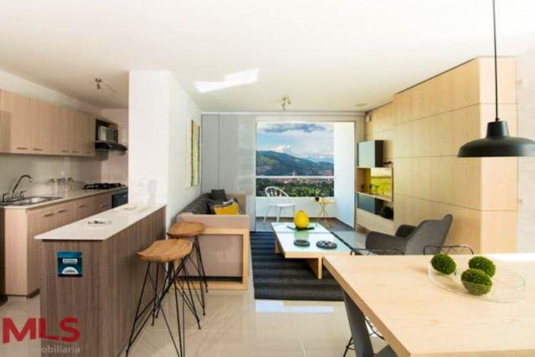 Portada Apartamento en Calle Larga, Sabaneta, Rio Secreto, 3 habitaciones- 76m2.
