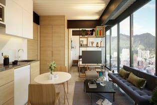 Apartamento en San Luis, Teusaquillo - 25mt, una alcoba