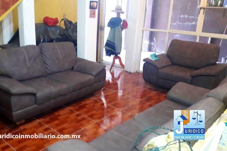 Portada Casa en venta en  Colonia Nueva San Isidro, Chalco, Con 5 Recamaras-206mt2