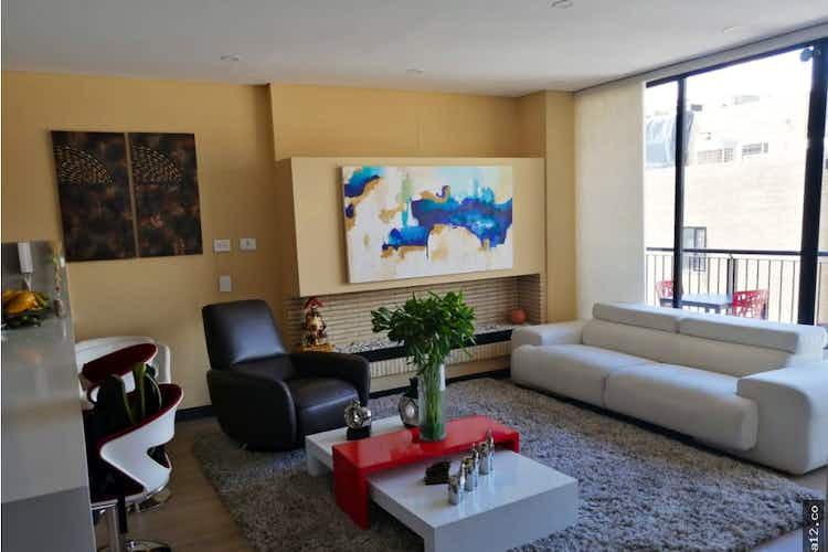 Portada Apartamento en venta en Chicó Reservado de 110 mt2. con balcón.