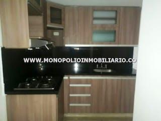Una foto en blanco y negro de una cocina en EL ALTILLO 3