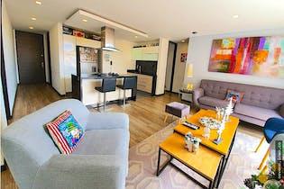 Apartamento en Contador, Cedritos - 73mt, dos alcobas, balcón