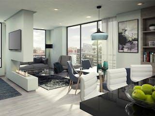 Mattiz 103, apartamentos sobre planos en La Floresta, Bogotá