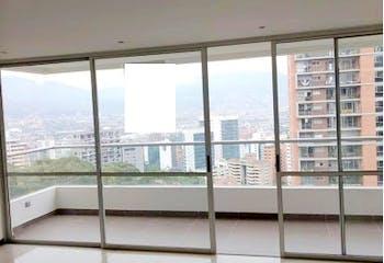 Apartamento en Loma de los Balsos, Poblado - Dos alcobas
