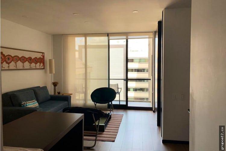 Portada Apartamento en Chicó-Chicó Reservado, con Balcón - 59 mt2.