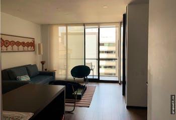 Apartamento en Chicó-Chicó Reservado, con Balcón - 59 mt2.