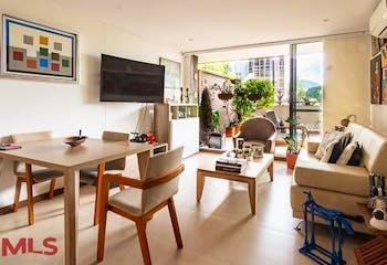 Apartamento en venta en Los Balsos de 88m² con Gimnasio...