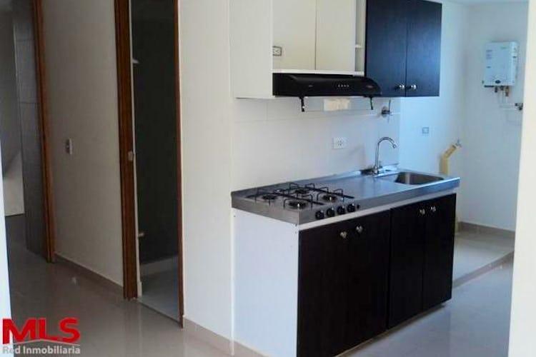 Portada Apartaestudio en Medellín, Bello, edificio Agua Clara, 1 habitación- 38,32m2