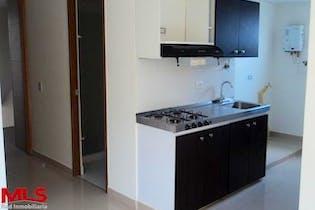 Apartaestudio en Medellín, Bello, edificio Agua Clara, 1 habitación- 38,32m2