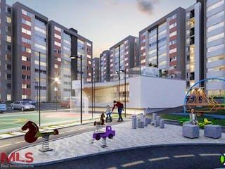 Torres De San Juan, apartamento en venta en El Rosal, Rionegro