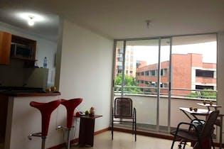 Apartamento en El Poblado-La loma del indio, con 2 Habitaciones - 60 mt2.