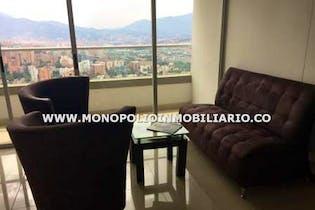 Apartamento En El Sector Las Palmas, El Poblado, Con 2 Habitaciones-74m2