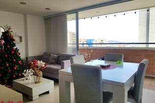 Apartamento en la loma de los bernal, con 3 habitaciones-88.61mt2