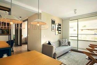 Apartamento en Santa Ana, bello, con 2 habitaciones-60.55mt2