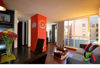 Apartamento en Suba-La campiña, con 2 Habitaciones - 44.52 mt2.
