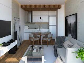 Una sala de estar llena de muebles y una televisión de pantalla plana en Park Andalucía