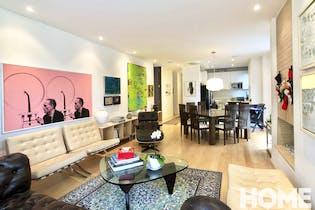 Apartamento en El Nogal, Chico - 217mt, tres alcobas, terraza