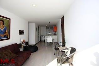 Apartamento en Las Palmas, Poblado - 58mt, una alcoba, balcón