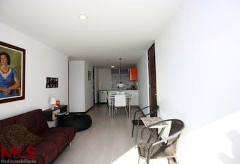 Apartamento en Las Palmas, Poblado - 58mt, una habitación