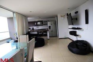 Apartamento en Las Palmas, Poblado - 87mt, tres alcobas, terrza