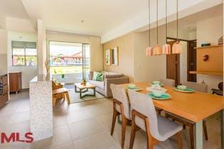 Apartamento en Santa Ana, Bello, Oceana, con 3 habitaciones- 72,9m2