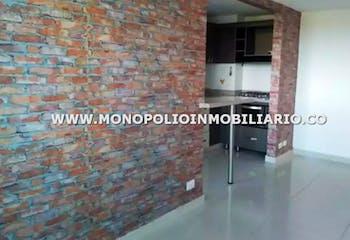 Apartamento en El Rosal, Rionegro - 58mt, dos alcobas, balcón