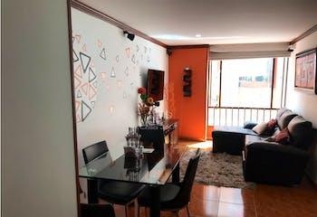 Apartamento en venta en Fontibón, 63m²