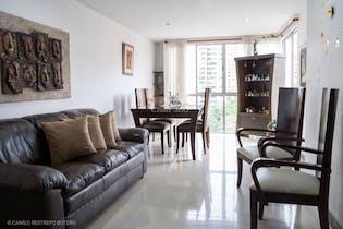 Apartamento en Santa Maria de los Angeles, Poblado - 95mt, tres alcobas, balcón