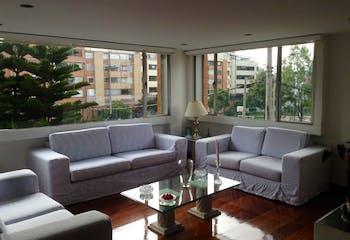 Apartamento en chico navarra -bogota, con 4 habitaciones-160mt2