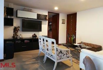 Apartamento en Loma de las Brujas, Envigado, Camino De Brujas, con 3 habitaciones- 106m2.