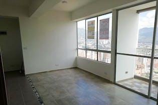 Apartamento el Carmelo, Sabaneta, Torre Lisboa, con 3 habitaciones- 58m2.