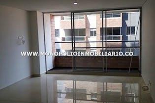 Apartamento - Sector Calle Larga, Sabaneta, con 3 habitaciones- 77m2.