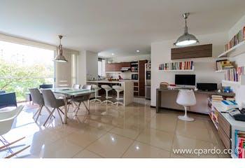 Apartamento Sector Santa Fe, Poblado, Con 3 Habitaciones, 110m2.