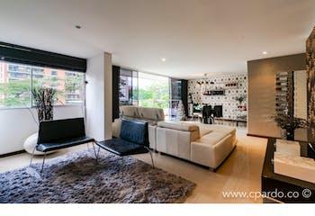 Apartamento 113 mts2-Ubicado en el Poblado-sector santa fe,2 Habitaciones.