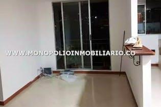 Apartamento en sector santa alicate, itagüi , con 3 habitaciones-59mt2
