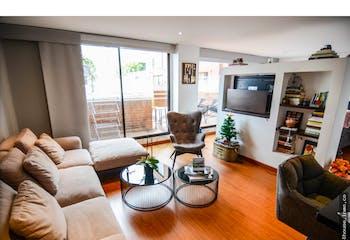 Apartamento en Santa Paula, Santa Barbara - 52mt, una alcoba, terraza