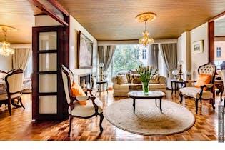 Apartamento en Chicó Risevado, Chico - 167mt, tres alcobas, terraza