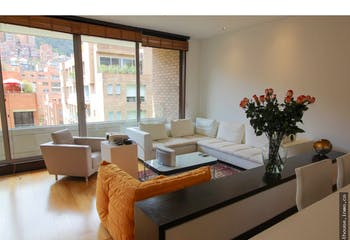 Apartamento en La Cabrera, Chico - 187mt, dos alcobas, balcón