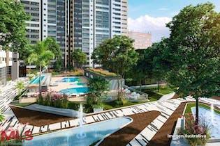 Apartamento en Ciudad del Rio, Poblado - 44mt, una alcoba, balcón