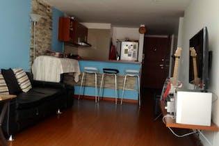 Apartamento en Usaquen, Usaquen - 57mt, dos alcobas, terraza