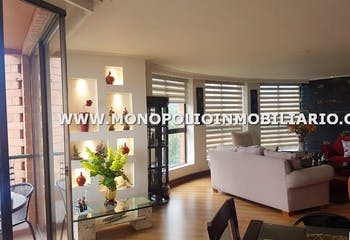 Apartamento en San Lucas, Poblado, 3 habitaciones- 170m2.
