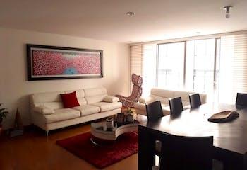 Apartamento en Contador, Cedritos - 113mt, tres alcobas, balcón