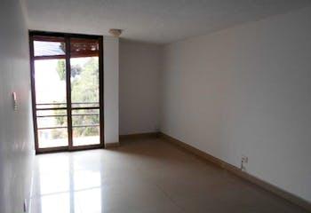 Apartamento en Chapinero Alto, Chapinero - 43mt, una alcoba, balcón